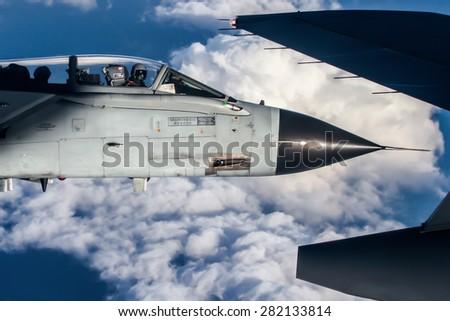 air to air tornado military aircraft aeronautica militare italian air force nose close up