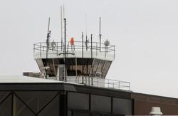 Air Traffic Control Tower at International Airport