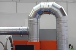 Air Ventilation Pipes For Machines in Factory