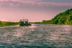 Airboat Everglades Florida