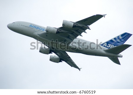 Airbus A380- biggest passenger airplane of the world