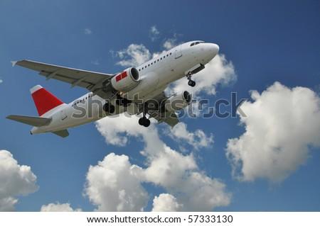 Aircraft at take-off