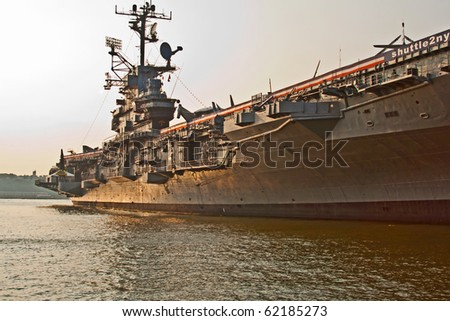 aircraft carrier as museum in New York