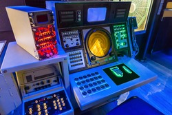 Aircraft carrier navigation equipment.