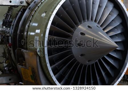 Aircraft engine(turbine engine)