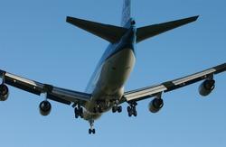 Aircraft on final approach