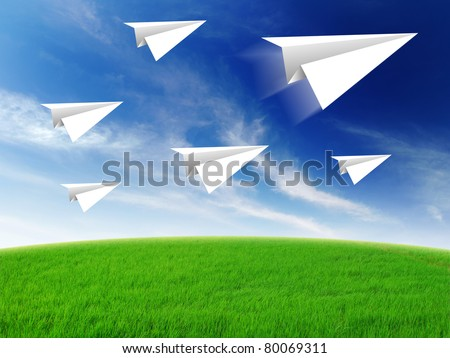 aircraft paper fold to success for design rocket paper