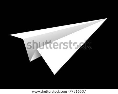 aircraft rocket paper fold to success for design