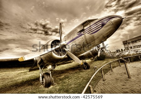 Airplane Douglas C-47A
