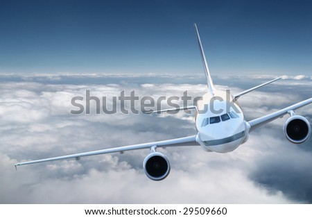Airplane in the sky #29509660