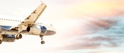 Airplane lands in Pisa airport