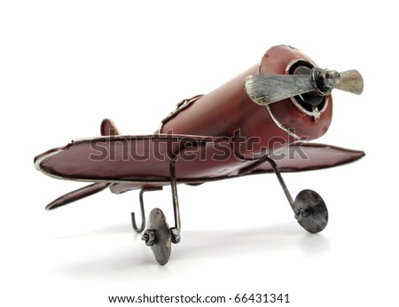 Airplane old toy