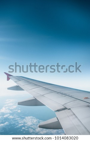 Airplane, Sky, Travel, Abroad #1014083020