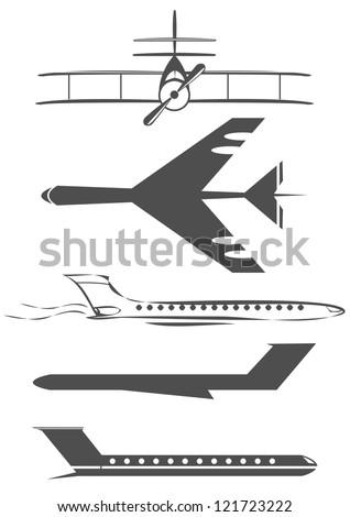 airplane symbols