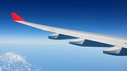 Airplane Wing - Air Travel Theme