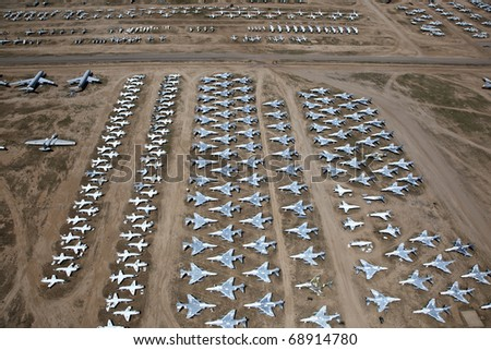 Airplanes - stock photo