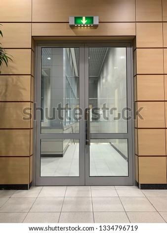Airport waiting halls and corridors interior #1334796719