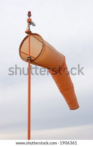Airport Wind Indicator Stock Photo 1906361 : Shutterstock