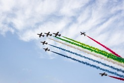 Airshow at Ghantoot -Dubai Abudhabhi Road at Polo club