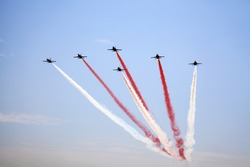 Airshow in the blue sky, Istanbul