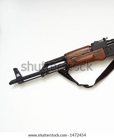 AK 47 (kalashnikov) gun barrel