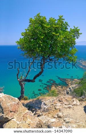 Akamas peninsula (Aphrodite's bathes, Cyprus).