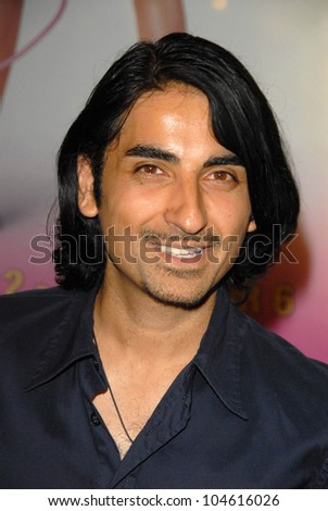 Akbar Kurtha  at the Los Angeles Premiere of 'Legally Blond The Musical'. Pantages Theatre, Hollywood, CA. 08-14-09 - stock photo
