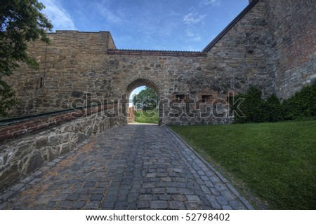 Akershus Fortress, In Oslo, Norway