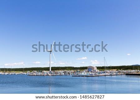 akita marina, akita prefecture japan #1485627827