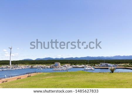 akita marina, akita prefecture japan #1485627833
