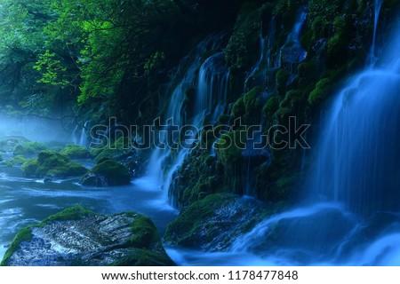 Akita Prefecture of nikaho City Summer falls #1178477848