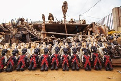 Akodessewa Fetish Market, the Voodoo Superstore