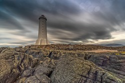Akranes Light house in Iceland