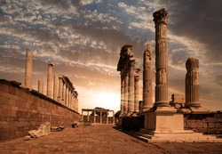 Akropolis antique city, Pergamon (Bergama) Turkey