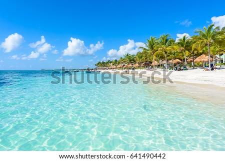 Shutterstock Akumal beach - paradise bay  Beach in Quintana Roo, Mexiko - caribbean coast