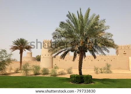 Al Jahili Fort in Al Ain, Abu Dhabi United Arab Emirates