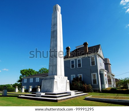 Alabama War Memorial in Montgomery, Alabama / Monumental Home