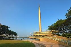 Alaf Baru monument in Putrajaya, Malaysia