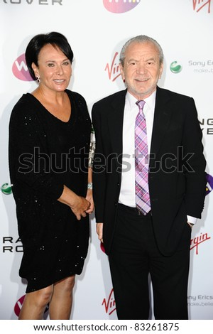 Alan Sugar arriving for the Pre Wimbledon Party, Kensington Roof Gardens, London. 16/07/2011  Picture by: Steve Vas / Featureflash