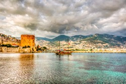 Alanya Town of Antalya Province in Turkey