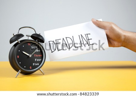Alarm Clock and deadline reminder