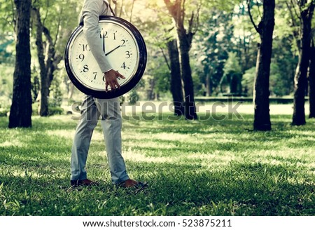 Alarm Timing Clock Schedule Punctual Time Concept #523875211
