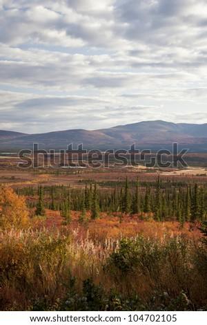 Alaska Range in Denali