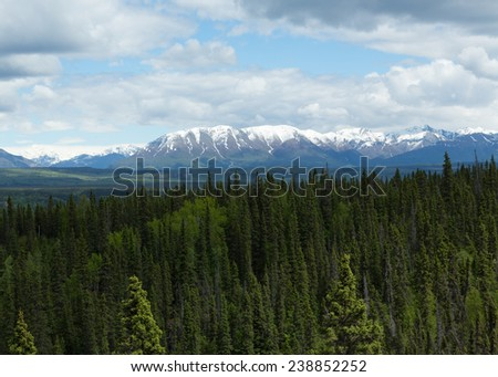 Alaska\'s Mountains and Forests