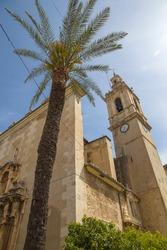 Albalat de la Ribera Valencia  parish church