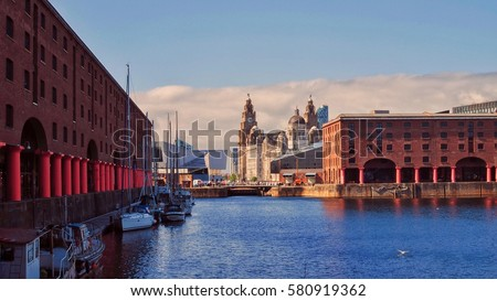 Albert dock,Liverpool,UK.