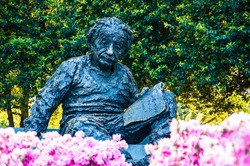 Albert Einstein Memorial in at the National Academy of Sciences in WashingtonDC, USA