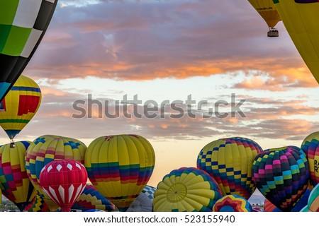 Albuquerque Hot Air Balloon Fiesta 2016 #523155940