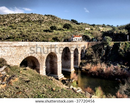 Segura roman bridge
