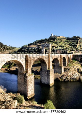 Alcantara roman bridge